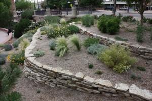 Siloam stone retaining wall
