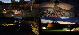 4-views of landscape lighting