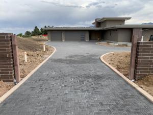 Borgert Concrete Paver Driveway