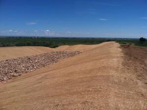 3:1 slope Bio-erosion control